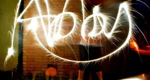 light writing, slow shutter speed