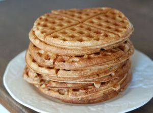 100 Days of Real Food Waffles