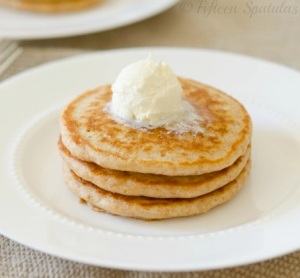 Whole Wheat Pancakes From Fifteen Spatulas
